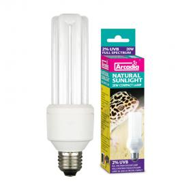 Arcadia Compact Natural Sunlight Lamp, 20W