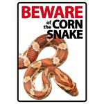 Beware Sign: Corn Snake