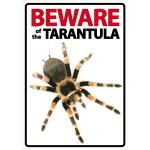 Beware Sign: Tarantula