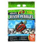 Zoo Med Aquatic River Pebbles 9Kg Bag,