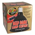 Zoo Med Deep Dome Lamp Fixture, LF-17