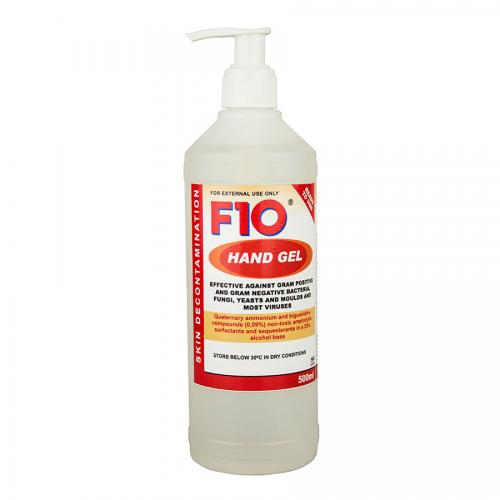 how to make f10 gel
